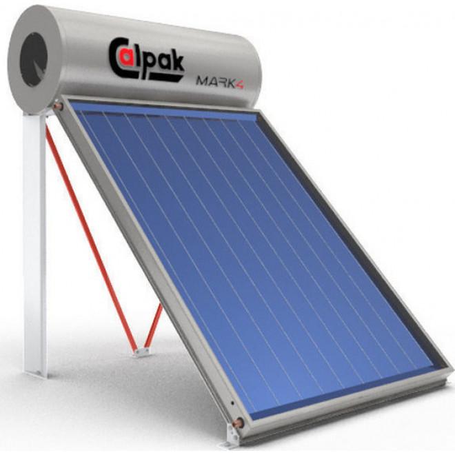 Calpak Mark 4 200lt/3m² Glass Επιλεκτικός Διπλής Ενέργειας