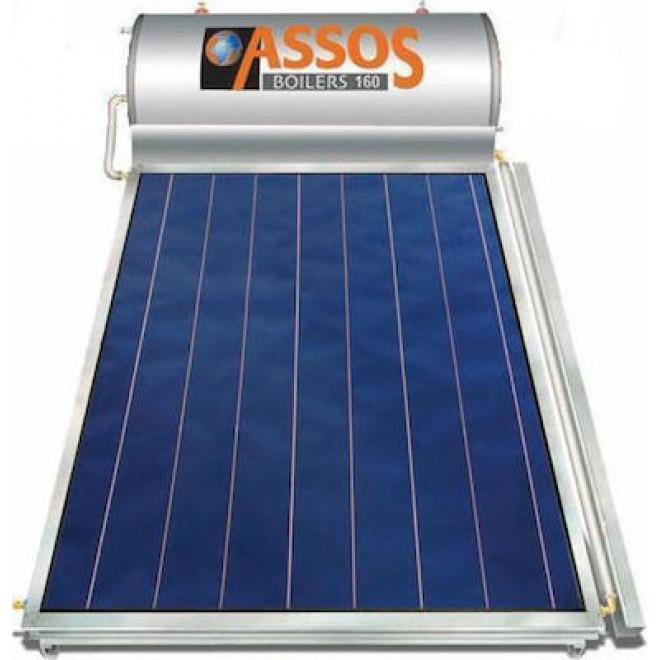 Assos SP120lt/2.1m² Glass Διπλής Ενέργειας