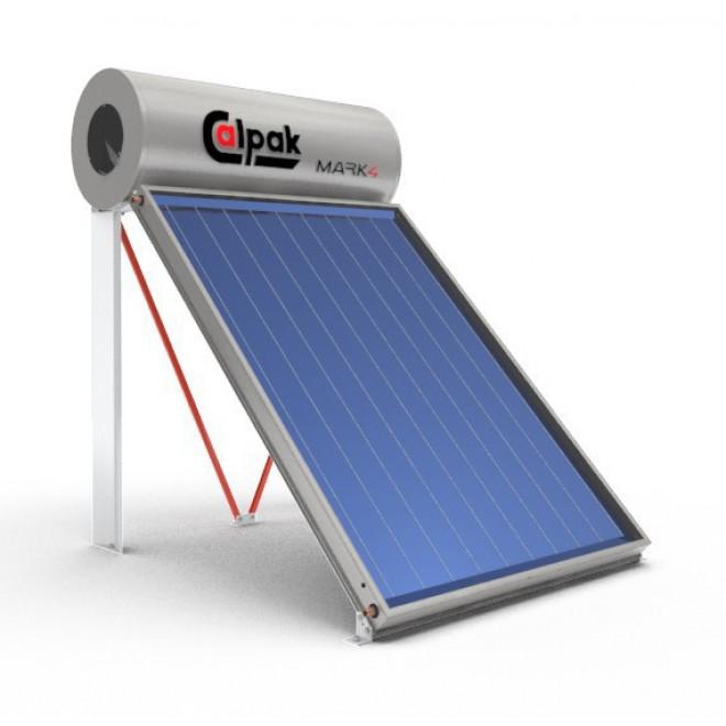 Calpak Mark 4 Trien 160lt/2.6m² Glass Επιλεκτικός Τριπλής Ενέργειας