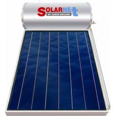 Assos Solarnet 160lt/2.5m² Glass Διπλής Ενέργειας